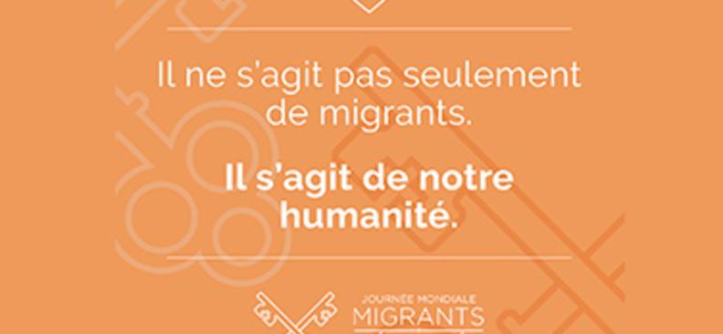 Il ne s'agit pas seulement de migrants, il s'agit de notre humanité