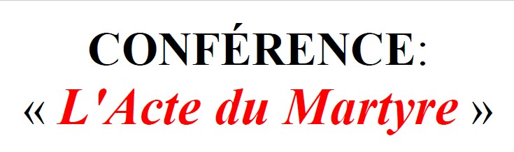 Messe en rite Maronite et Conférence par P. Maroun BADR
