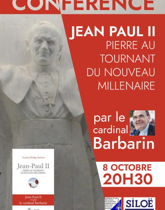 Conférence du Cardinal Barbarin le 8 octobre 2020