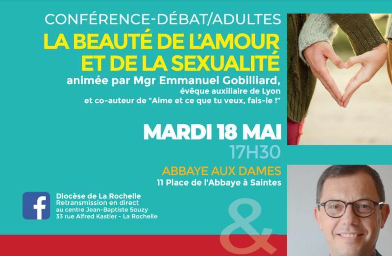 Conférences débat animées par Mgr Emmanuel Gobilliard – 18 et 19 mai 2021