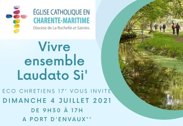 """""""Vivre ensemble Laudato Si'"""" –  4 juillet 2021"""