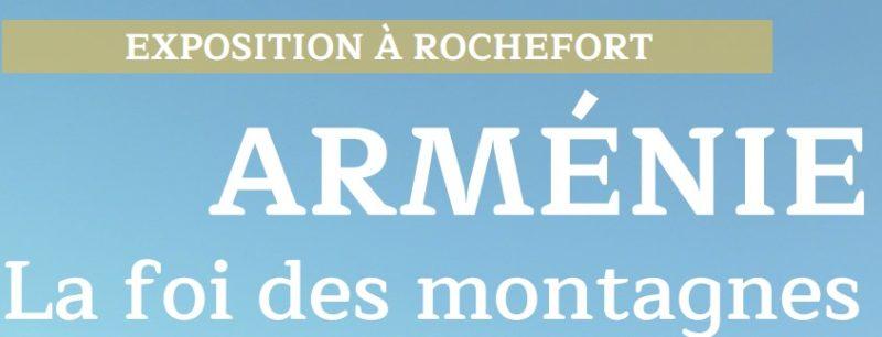 Exposition sur l'Arménie, et Conférence du professeur Mutafian à Rochefort – 12 juin 2021